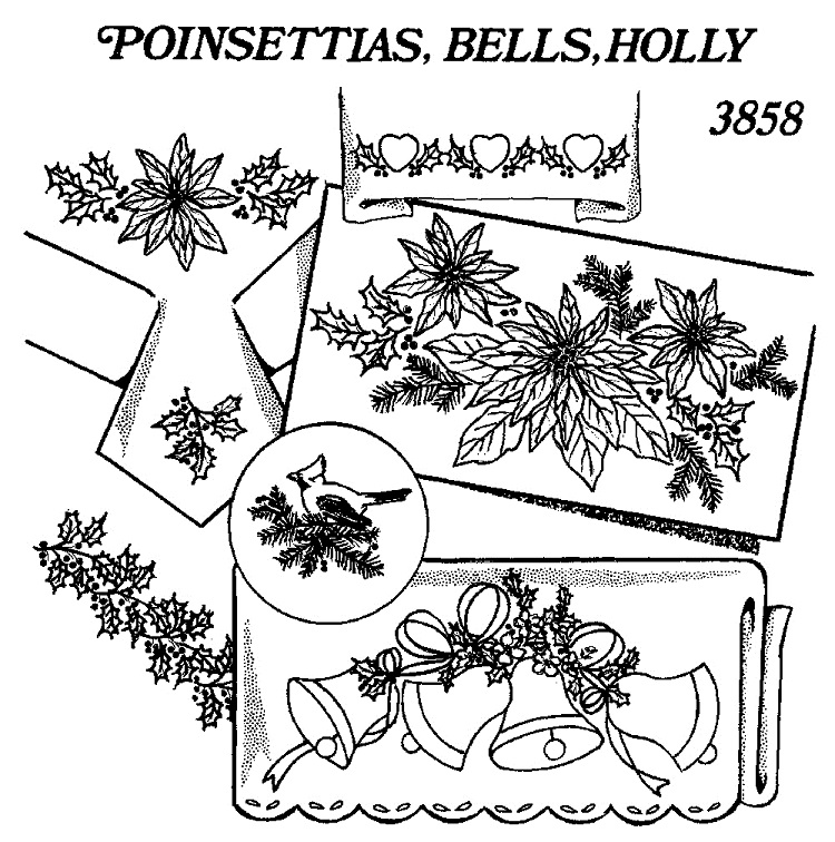 Iron on transfers - hand embroidery patterns ready to use